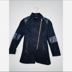 NWOT Rothschild Girl's Black Swing Coat size 10